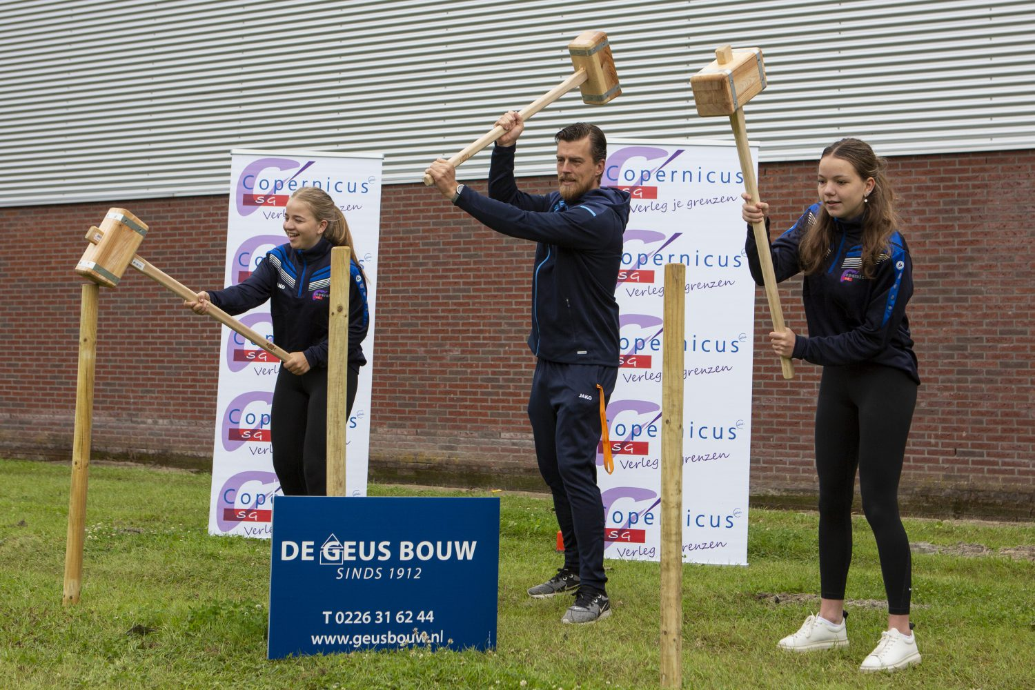 """Featured image for """"Eerste paal nieuwe sporthal Copernicus SG"""""""
